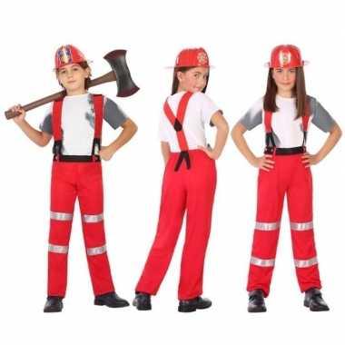 Brandweer uniform carnavalskleding jongens meisjes den bosch