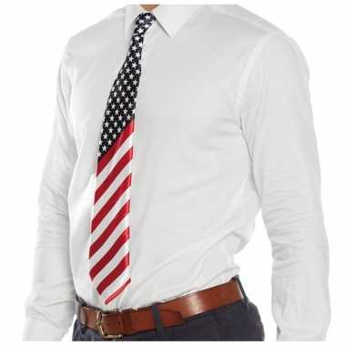 Amerikaanse verkleed stropdas carnavalskleding den bosch