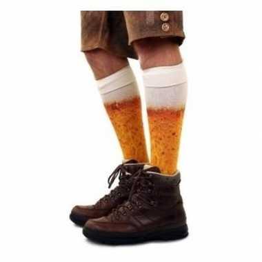 Bier kousen heren maat / carnavalskleding den bosch
