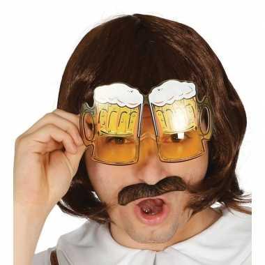 Bierglazen partybril carnavalskleding den bosch