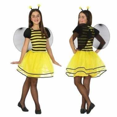 Bijen verkleedjurkje kinderen carnavalskleding den bosch