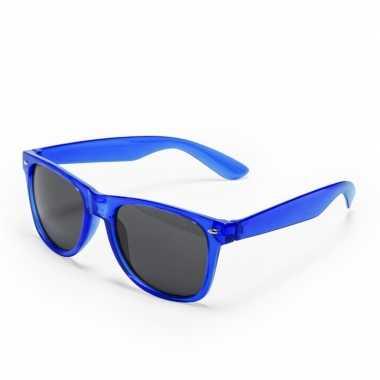 Blauwe verkleed zonnebril carnavalskleding den bosch