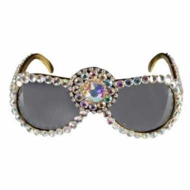 Bling bling verkleed zonnebril dames carnavalskleding den bosch
