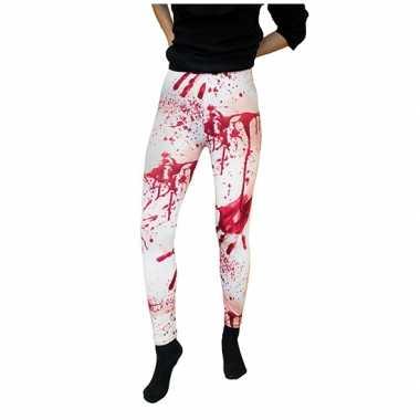 bloederige witte legging dames carnavalskleding den bosch