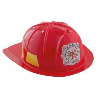 Brandweerhelm verkleed accessoire kind carnavalskleding den bosch