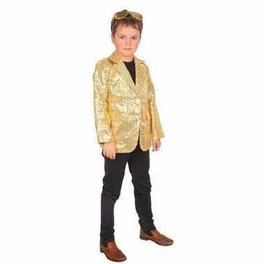 Carnaval colbert jasje goud kinderen carnavalskleding den bosch