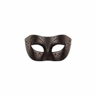 Carnaval oogmasker zwart volwassenen carnavalskleding den bosch
