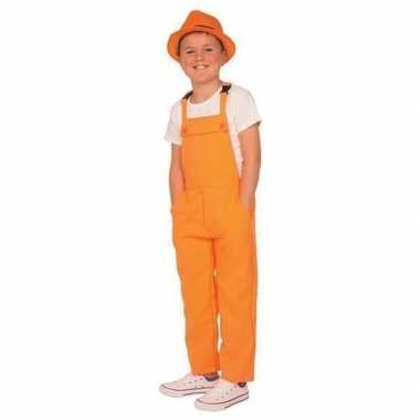 Carnaval tuinbroek oranje kinderen carnavalskleding den bosch