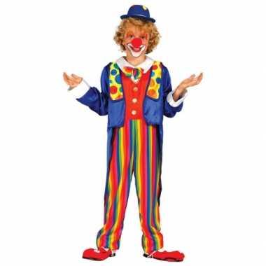 Carnavalskleding clown kinderen Den Bosch