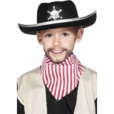 Carnavalskleding cowboyhoed kinderen