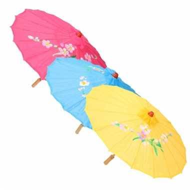 Decoratie parasol china wit carnavalskleding den bosch