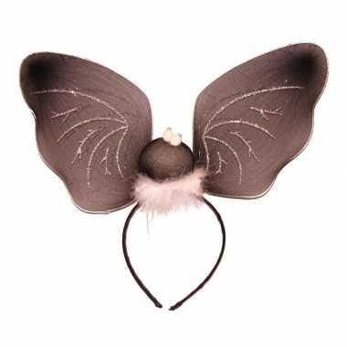 Diadeem vleermuis vleugels carnavalskleding den bosch
