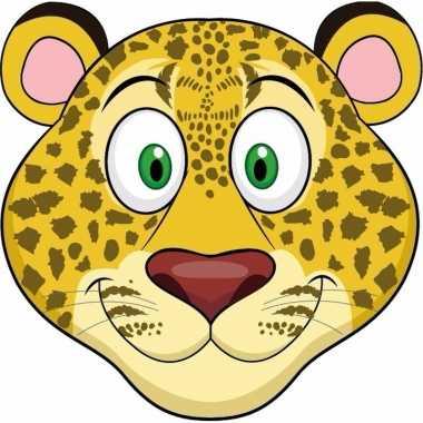 Dieren masker luipaard kids carnavalskleding den bosch