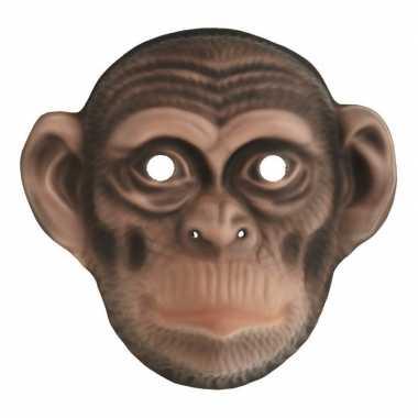 Dierenmasker apen chimpansee kinderen carnavalskleding den bosch