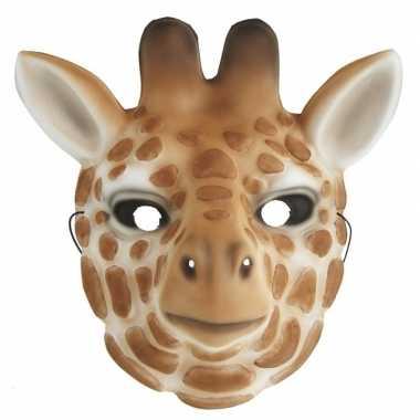 Dierenmasker verkleed giraffe kinderen carnavalskleding den bosch