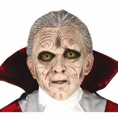 Dracula horror/halloween masker latex carnavalskleding den bosch