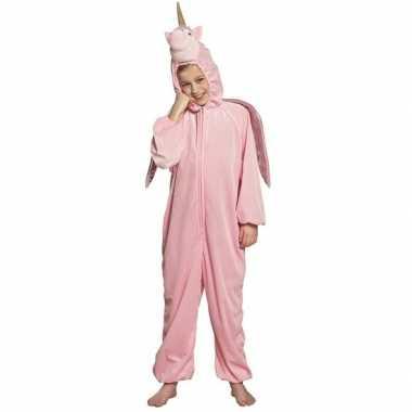 Eenhoorn onesie kinderen roze carnavalskleding den bosch