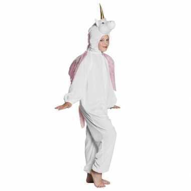 Eenhoorn onesie kinderen wit carnavalskleding den bosch