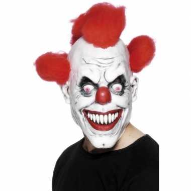 Eng clown masker volwassenen carnavalskleding den bosch