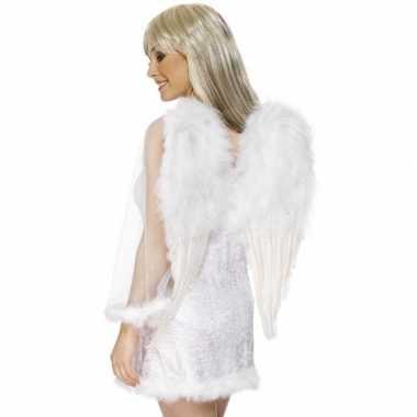 Engel vleugels wit dames carnavalskleding den bosch