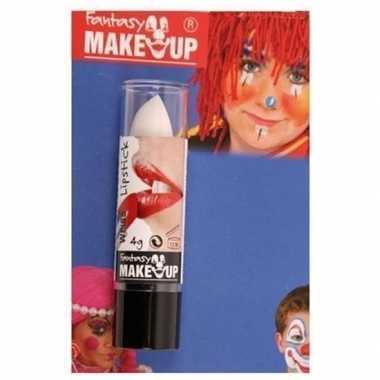 Feest/party lipstick/lippenstift mat wit carnavalskleding den bosch