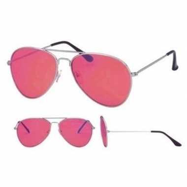 Fopbril roze glazen volwassenen carnavalskleding den bosch