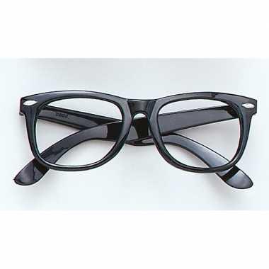 Fun bril zonder glazen zwart carnavalskleding den bosch