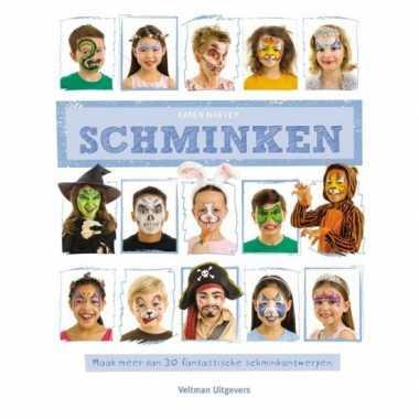 Carnavalskleding gezichten schminken boek