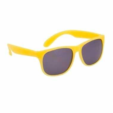 Goedkope gele zonnebrillen carnavalskleding den bosch
