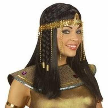 Gouden cleopatra hoofdband dames carnavalskleding bosch