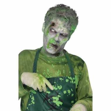 Groen alien namaak/nepbloed , ml carnavalskleding den bosch