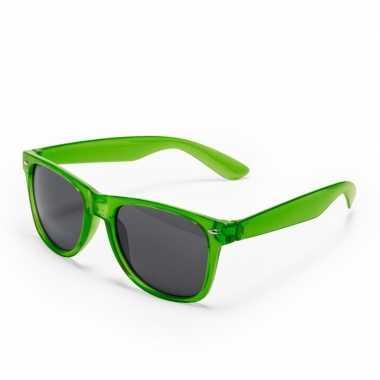 Groene verkleed zonnebril carnavalskleding den bosch
