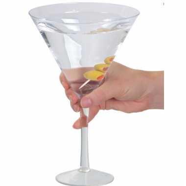 Grote Martini glazen carnavalskleding Den Bosch