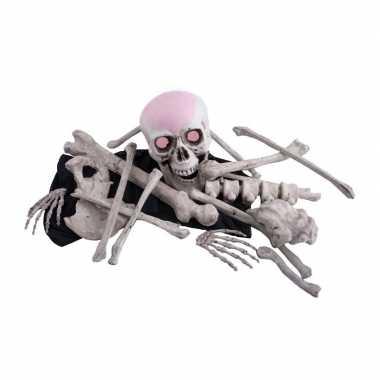Grote zak lichaams botten carnavalskleding Den Bosch
