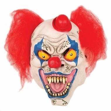 Halloween horror clown masker carnavalskleding den bosch
