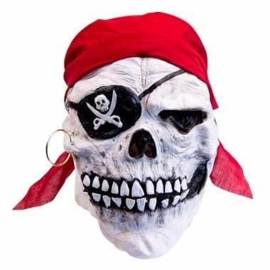 Halloween Masker.Halloween Masker Doodskop Piraat Carnavalskleding Den Bosch