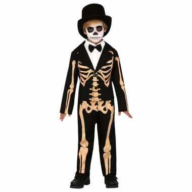 Halloween skelet broek colbert kinderen carnavalskleding den bosch