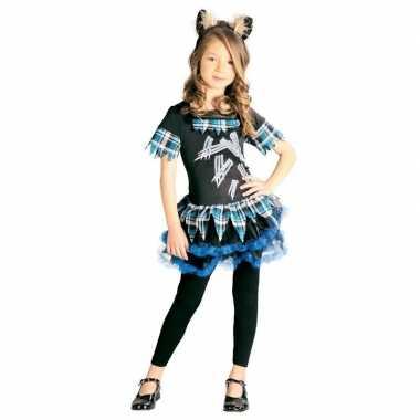 Halloween weerwolf jurkje haarband meisjes carnavalskleding den bosch