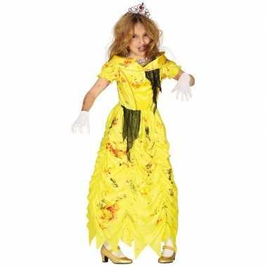 Halloween zombie prinses jurk meisjes carnavalskleding den bosch