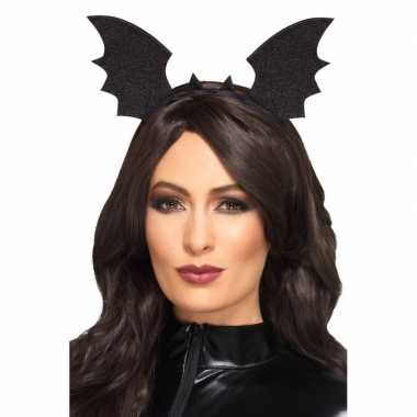 Halloween zwarte vleermuis haarbanden volwassenen carnavalskleding bo