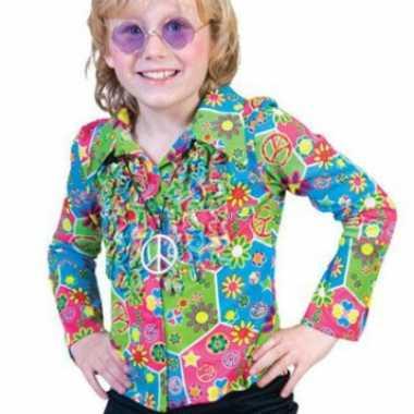 Hippie blouse kids carnavalskleding Den Bosch