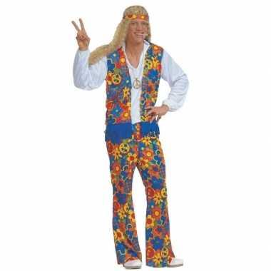 Carnavalskleding hippie carnavalskleding