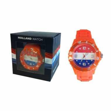 Holland horloge heren carnavalskleding Den Bosch