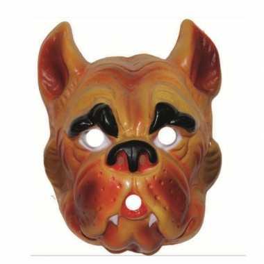 Carnavalskleding hond masker volwassenen