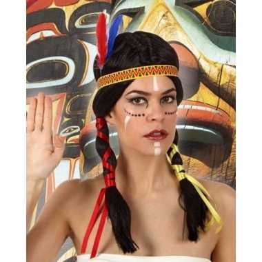 Indianen verkleedpruik dames carnavalskleding den bosch