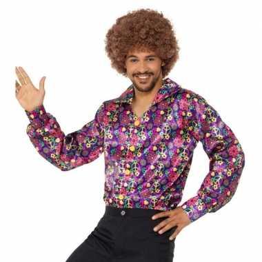 Jaren peace overhemd heren carnavalskleding den bosch