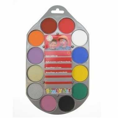 Kinderschmink kleuren carnavalskleding den bosch