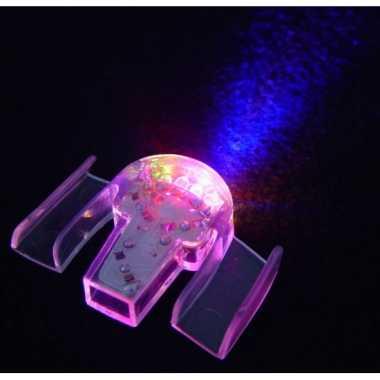 LED lichtjes je mond carnavalskleding Den Bosch