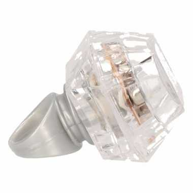 Carnavalskleding led lichtjes ring