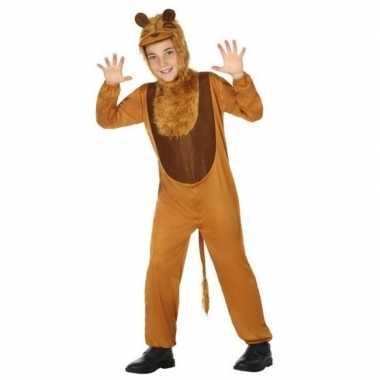 Leeuw onesie verkleedset kinderen carnavalskleding den bosch